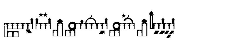 Preview of Masjid Unicode Masjid Unicode