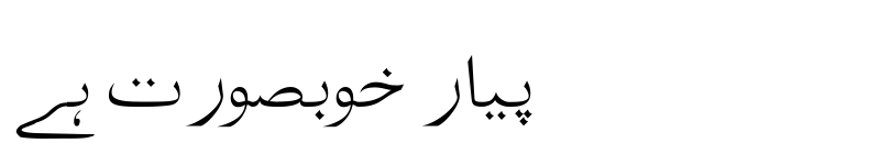 Preview of Tafseer Regular